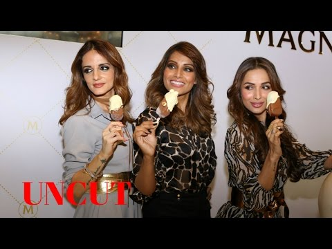 UNCUT: Bipasha Basu | Malaika Arora | Sussanne Khan At Grand Unveiling Of Magnum Ice Cream
