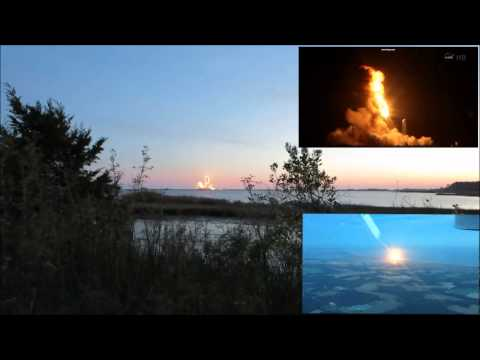 Virginia - On the night of October 28, 2014, NASA launched an Antares rocket loaded with supplies for the International Space Station, approximately 6 seconds after liftoff, a malfunction caused the rocket...