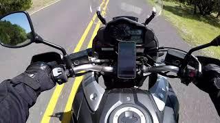 7. Riding Lime Creek Road Austin Texas Suzuki Vstrom 1000XT