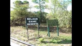 Rufiji Tanzania  city photos gallery : The Boarder between Selous Game Reserve and Mloka Village in Rufiji, Tanzania