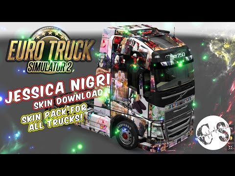 Jessica Nigri Skin Pack for All Trucks + 3 Custom Trucks