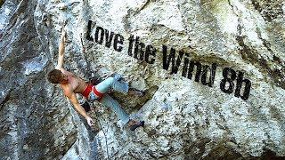 Sturm der Liebe 8b / 5.13d (Thalhofergrat) | Uncut Ascent by Mani the Monkey