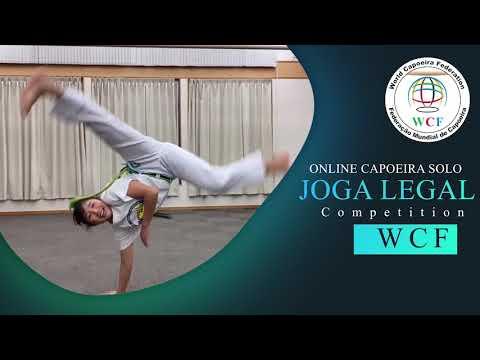 Akari Tachi. Capoeira Gueto Japan. Champion. Girls U14. JOGO LEGAL