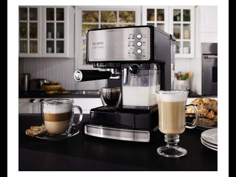 Top 10 Coffee Maker Espresso Machine Reviews 2016