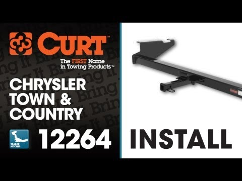Trailer Hitch Install: CURT 12264 on 2009 Chrysler Town and Country