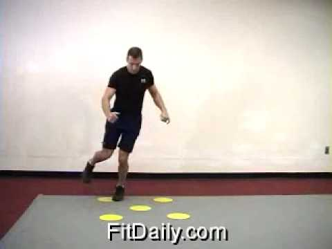 Agility Dot Drill – Footwork Drill – Exercise Tips & Ideas
