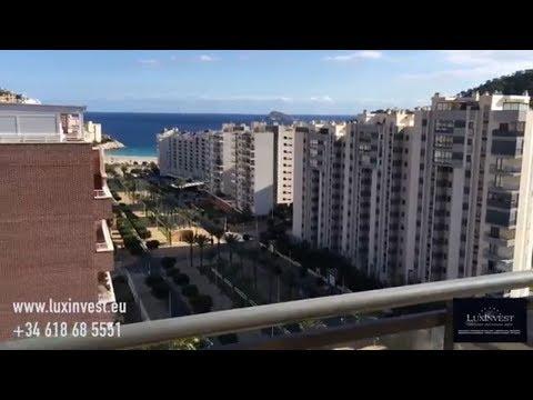 Apartamento con vistas al mar en La Cala. Propiedad en la Costa Blanca