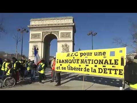 Frankreich: Gelbwesten-Proteste landesweit am 15. Samstag in Folge