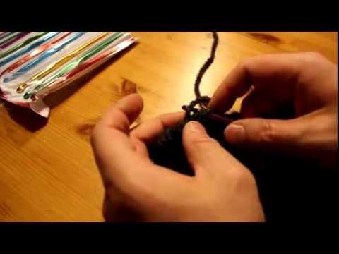 Schal mit Strickrahmen stricken Teil 10/11: Vernähen 2