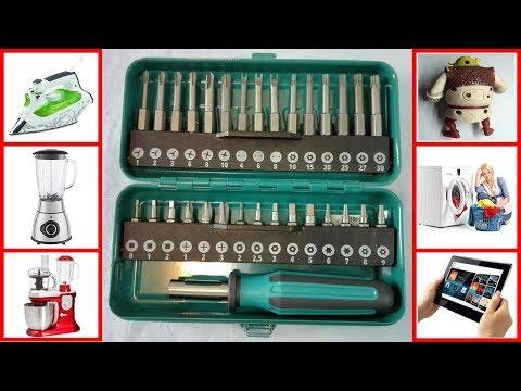 Unboxing: Cacciavite magnetico kit con punte particolari e cassetta in metallo