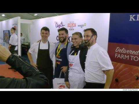Η εκπομπή Taste δοκιμάζει τις νέες γεύσεις της ανατολής στο Ντουμπάι…