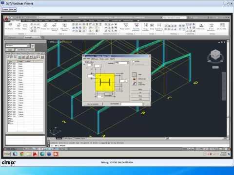 Grabación del Webcast de AutoCAD Structural Detailing 2014