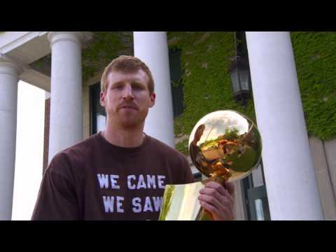 Video: Spurs Championship Trophy Tour: Matt Bonner in New Hampshire
