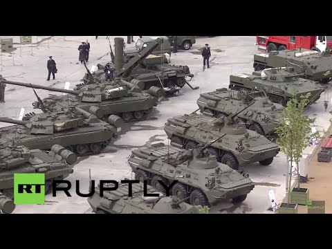 Russia: Check out the modern military hardware on display at Army-2015 expo