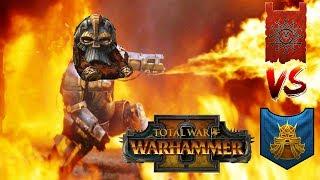 WARP FIRE & DAWI FIRE | Dwarfs vs Skaven : Mortal Empires - Total War Warhammer 2