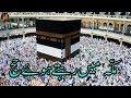 Makkah Mein Rehte Hova Hajj | Dr Mufti Khaleeq-ur-Rehman | Hajj