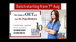 Video OET Reading 2.0 explained by Dr. Puja Matharu MP3, 3GP, MP4, WEBM, AVI, FLV Maret 2019
