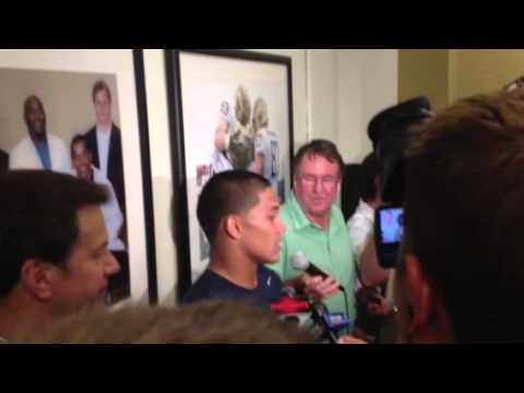 James Conner Interview 8/30/2014 video.