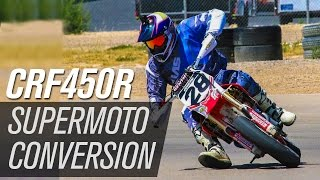 9. 2013 Honda CRF450R Supermoto Conversion