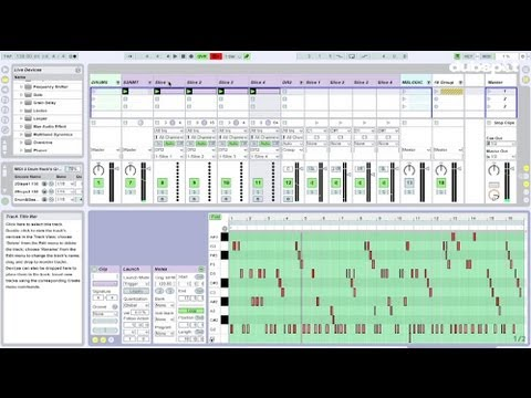 Ableton Live Video Tutorial: Beat Programming – Routing MIDI to Drum Rack
