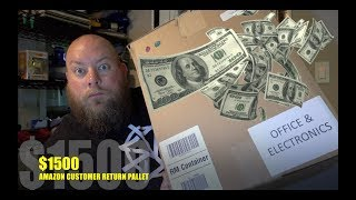 I Paid $170 for $1,500 of MYSTERY Electronics & Tech + Amazon Customer Returns Pallet Unboxing