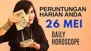 Video PERUNTUNGAN ZODIAC ANDA HARI INI  | 26 MEI 2019 - DAILY HOROSCOPE | Endang Tarot (Indonesia) MP3, 3GP, MP4, WEBM, AVI, FLV Mei 2019
