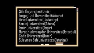 OHAL kapsamında kapatılan üniversiteler...