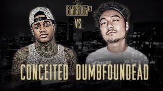 Video KOTD - Rap Battle - Conceited vs Dumbfoundead | #Blackout5 MP3, 3GP, MP4, WEBM, AVI, FLV Oktober 2018