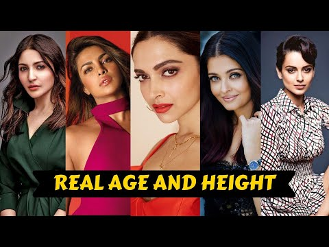 20 Bollywood Actress Shocking Real AGE, HEIGHT 2021 | Part 1