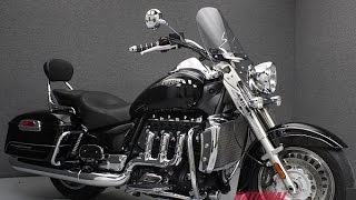 6. 2008 TRIUMPH ROCKET III CLASSIC TOURING  - National Powersports Distributors