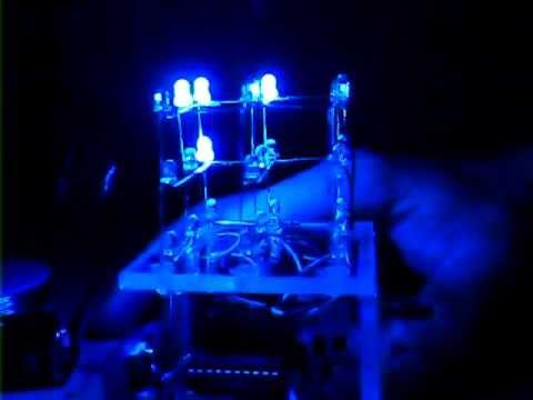 LED Cube 3x3x3 by KPY3EP