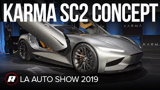 Karma SC2 concept: Ridiculously powerful electric coupe makes bold perfomance claims by Roadshow