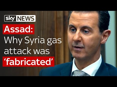 Video Assad says Syria chemical attack was fabricated download in MP3, 3GP, MP4, WEBM, AVI, FLV January 2017