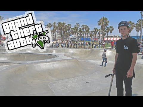 WORLDS MOST FAMOUS SKATEPARK!