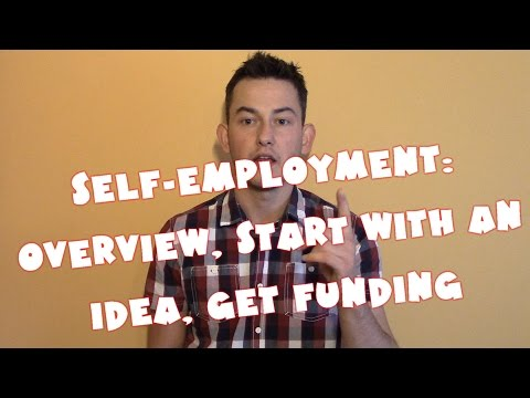 United Kingdom #8 - Self-employment: Overview, Start with an idea, Get funding (NAPISY PL)