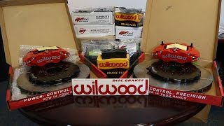 Four Rotor Update: Unboxing Wilwood Brake Kits by Rob Dahm