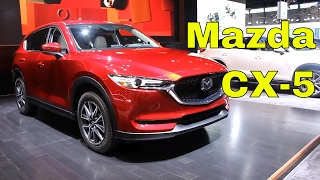 A refreshed design and all-new interior help create a CX-5 that's sporty and sophisticated! Be sure to check out all my videos from the Chicago auto show, by clicking the link below: https://www.youtube.com/playlist?list=PLsrCk-C13kG2HPnd7p1sxKOmxUWjigXyR