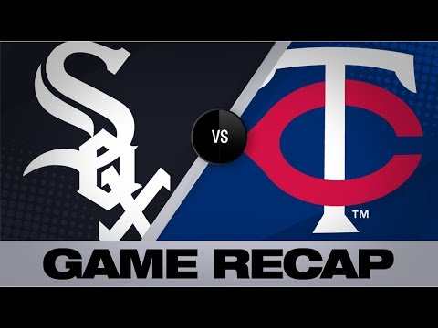 Video: Giolito twirls 12-K, 3-hit shutout | White Sox-Twins Game Highlights 8/21/19