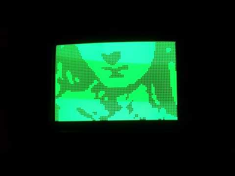 Graphics test Sharp MZ-80A