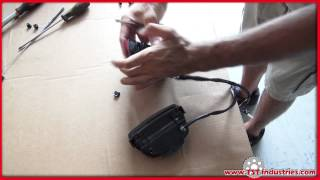 6. How to : 2008-2011 Honda CBR 1000RR Integrated Tail Light Install by TST Industries