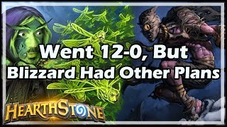Went 12-0, But Blizzard Had Other Plans - Witchwood / Hearthstone