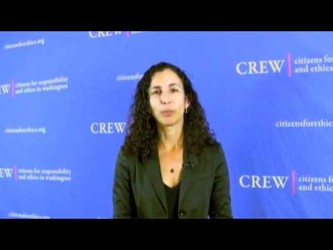 CREW&#8217;s Most Corrupt 2011 - Melanie Sloan Q&amp;A