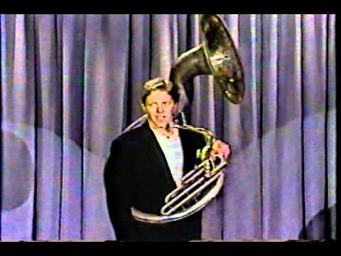 Tom Wilson tuba standup (tonight show)