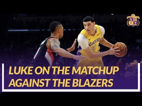 Video: Lakers Nation Interview: Luke Walton Discusses Matchup vs Blazers for Season Opener