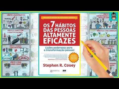 OS 7 HÁBITOS DAS PESSOAS ALTAMENTE EFICAZES | STEPHEN COVEY | RESUMO ANIMADO