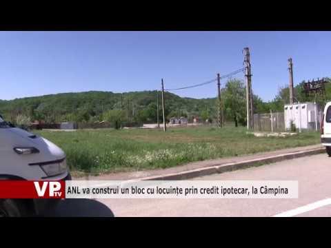 ANL va construi un bloc cu locuințe prin credit ipotecar, la Câmpina