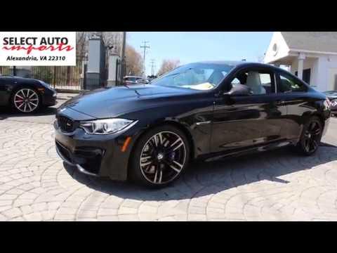 2016 BMW M4 Coupe, Black Sapphire Metallic, Select Auto Imports in Alexandria, VA #19472
