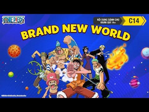 Nhạc One Piece - Brand New World - Phim Đảo Hải Tặc - Thời lượng: 110 giây.