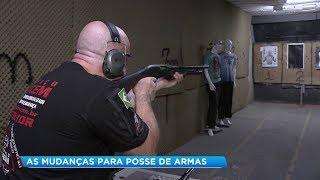 Decreto do Presidente Bolsonaro começa a movimentar o mercado de armas e de cursos de tiros