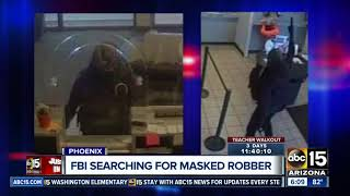 FBI seeks public's help after man robs West Phoenix bank